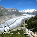photo : Glacier d'Aletsch